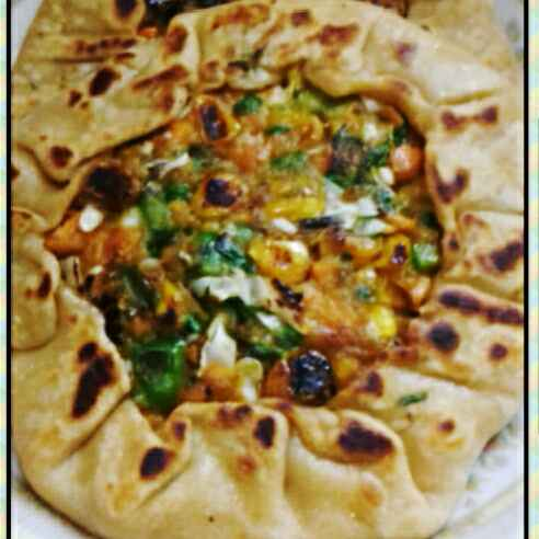 Photo of Open Vegetable Paratha by Neha Mangalani at BetterButter