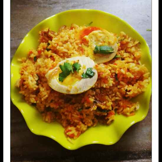 How to make Egg Pulao