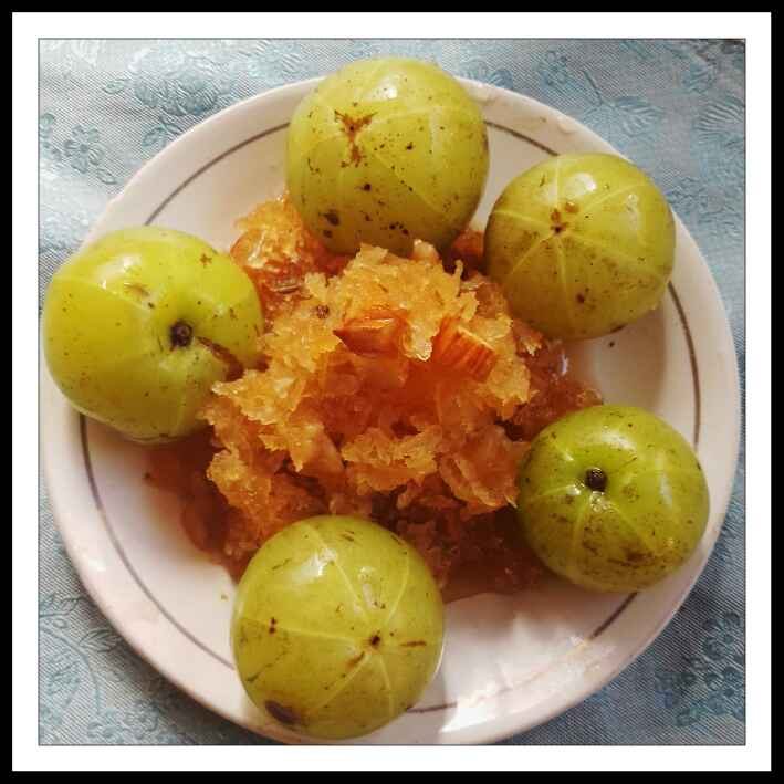 How to make Grated Amla Murraba (grated indian gooseberry )