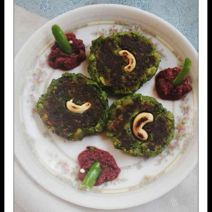 How to make Matar Tikki/Green Peas Cutlets