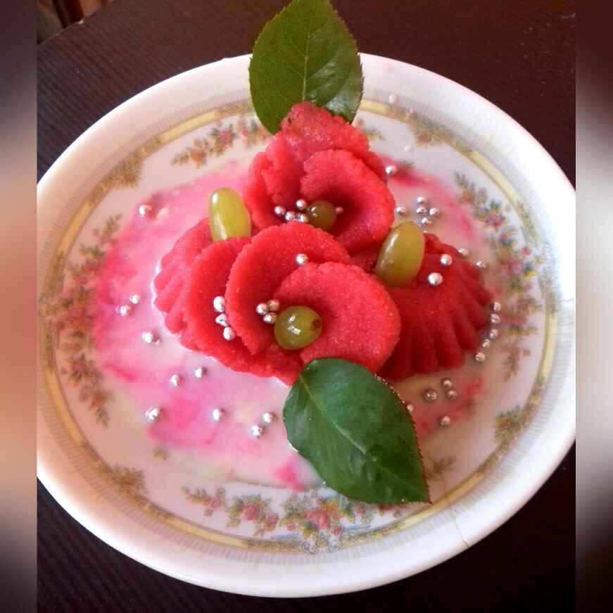 Photo of Rosy semolina delite.. by Neha Mangalani at BetterButter