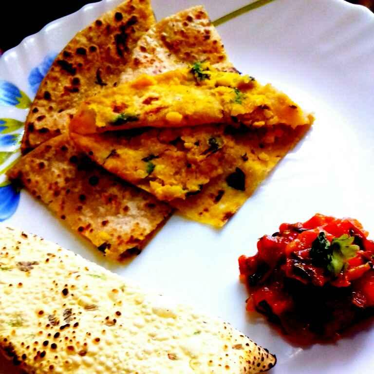 Photo of Moong ki dal ka paratha by Neha Mangalani at BetterButter