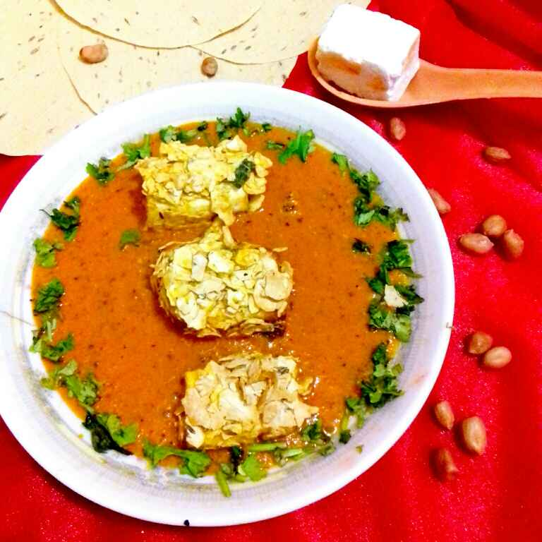 Photo of Papad paneer roll Curry by Neha Mangalani at BetterButter