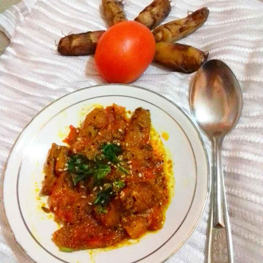 Photo of Achari arbi tamatar by Neha Mangalani at BetterButter