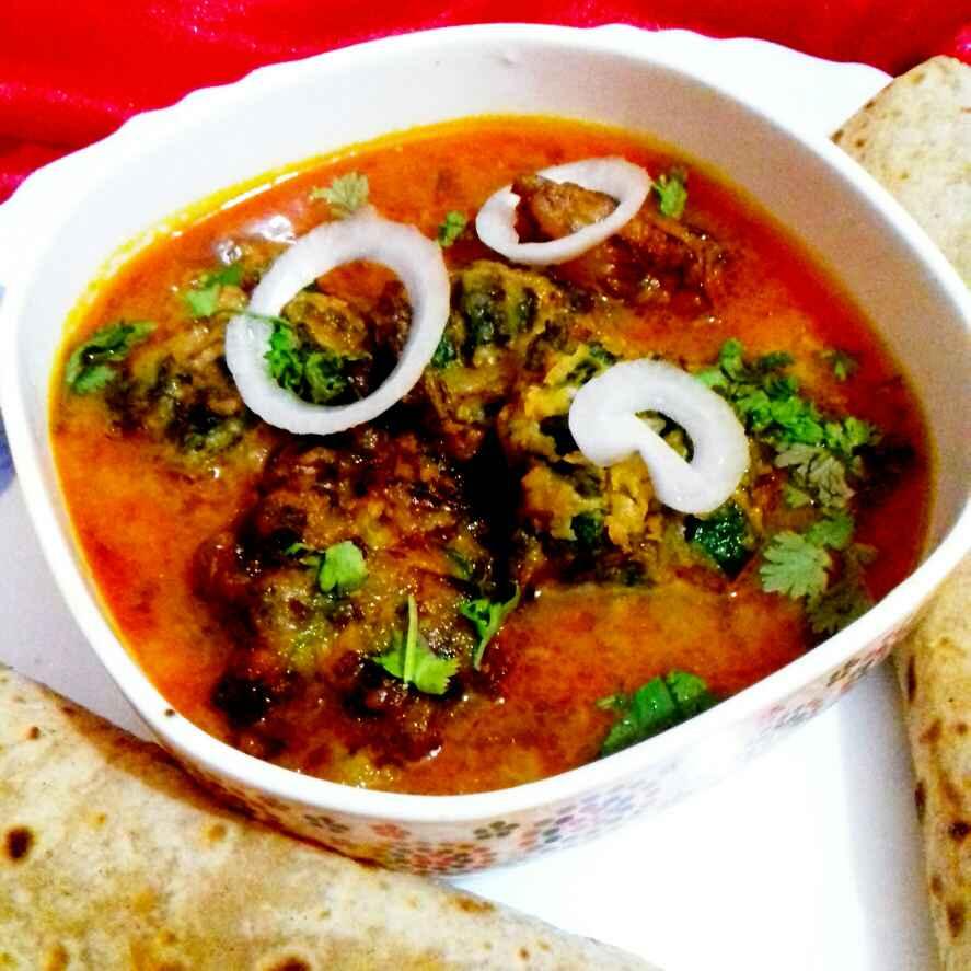 How to make bhindi pakora curry/okra fritter curry