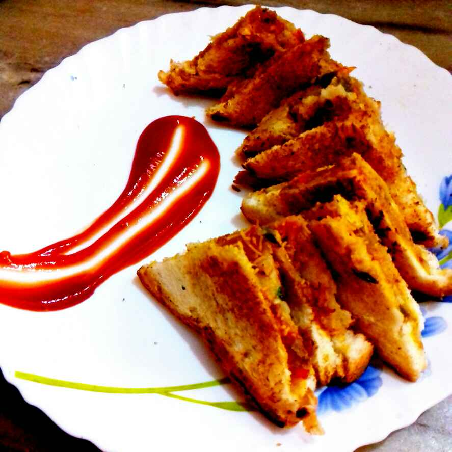 Photo of Gobhi patakha sandwich by Neha Mangalani at BetterButter