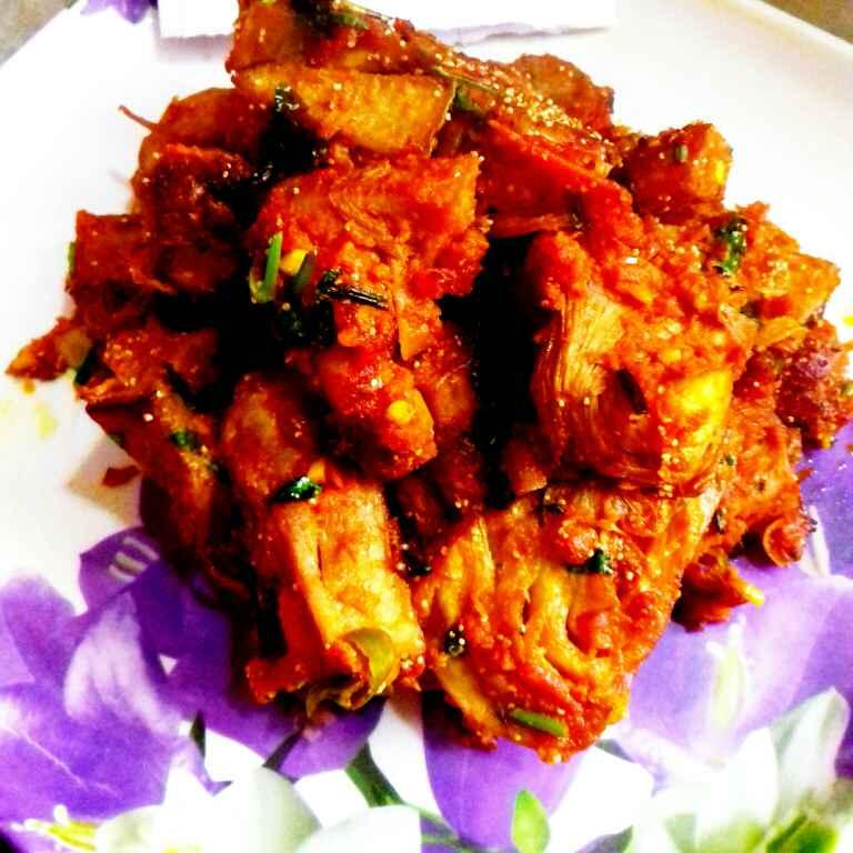 How to make Lahsuni kathal