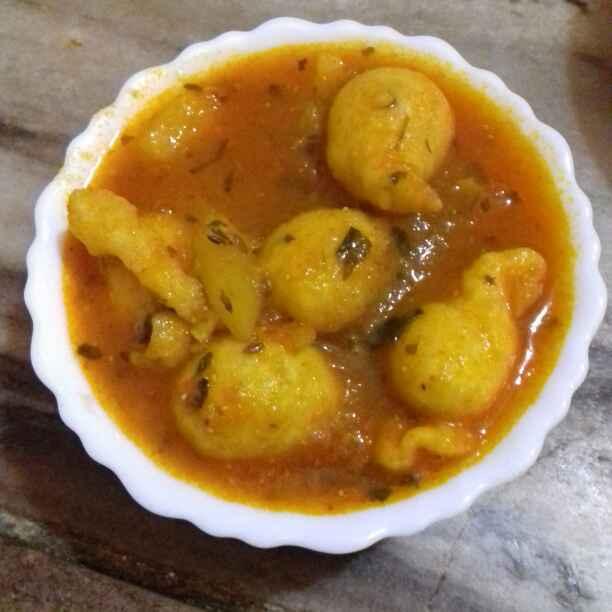 Photo of Pakore ki subzi by Neha Mangalani at BetterButter