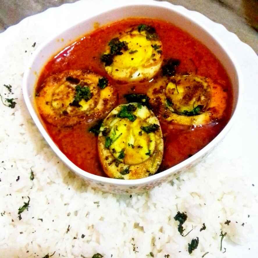 How to make Tamatar wali anda curry