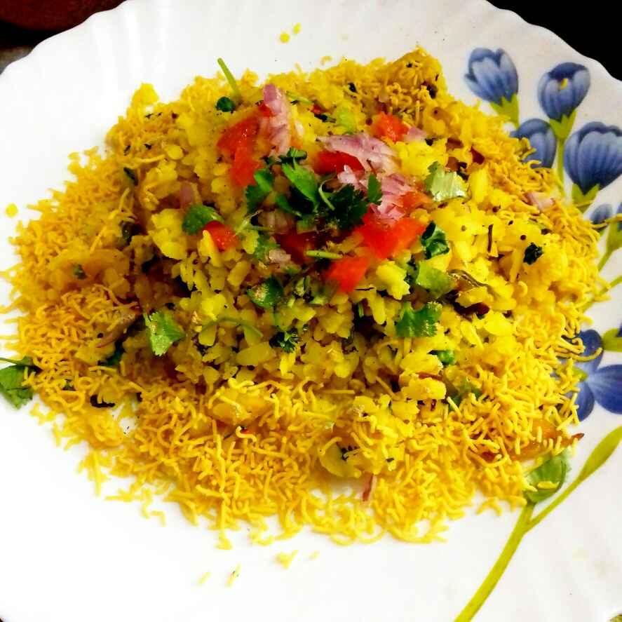 Photo of mix veg.poha by Neha Mangalani at BetterButter
