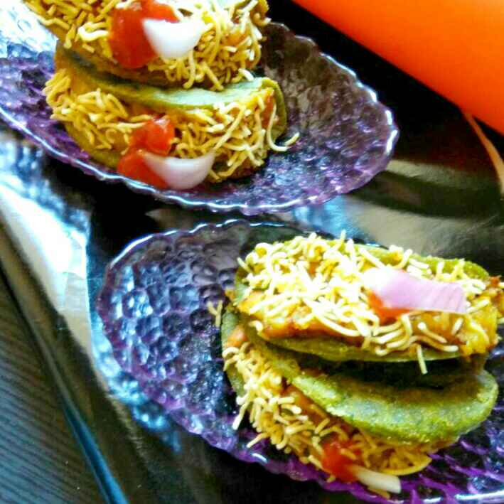 Photo of Chatpate methi tacos by Neha Mangalani at BetterButter