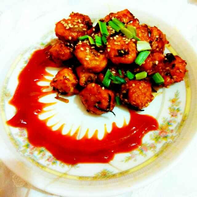 Photo of Honey chilli mangodi by Neha Mangalani at BetterButter