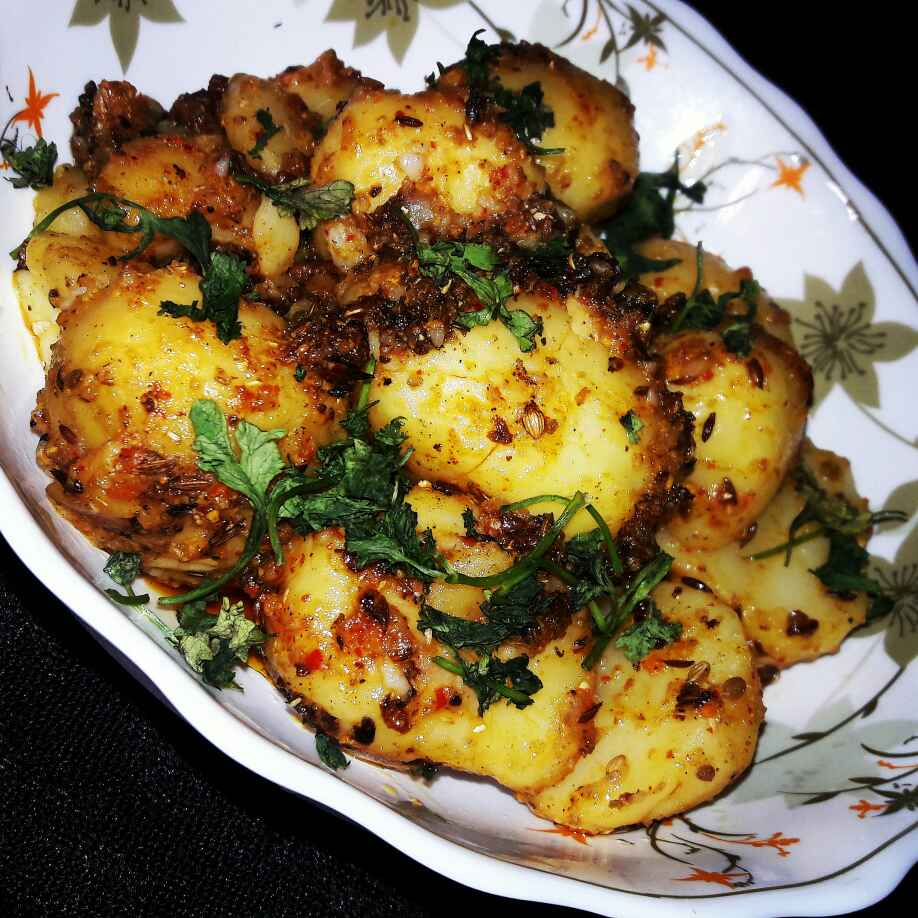 Photo of Curd Fry Aloo by Neha Paliwal at BetterButter