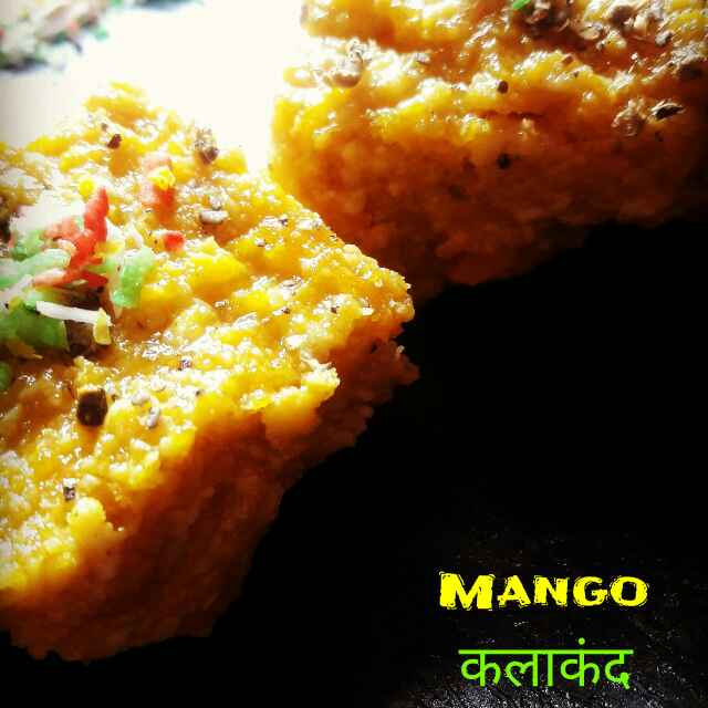 Photo of Mango Kalakand by Neha Paliwal at BetterButter