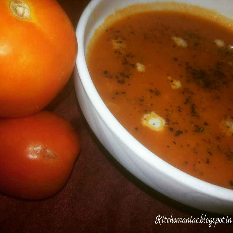 How to make Sweet and Sour Tomato Soup