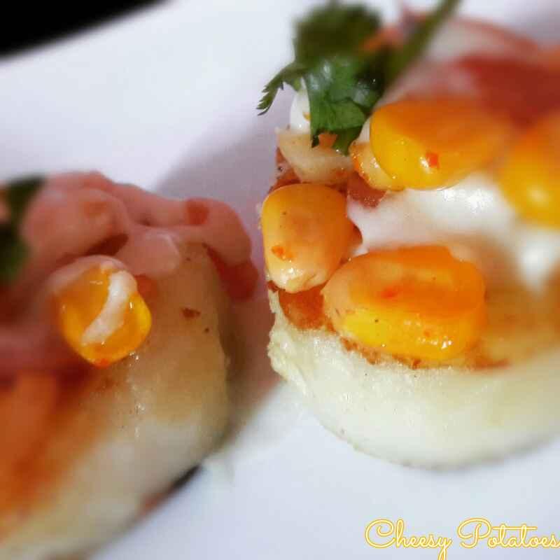 Photo of Cheesy    potatoes by Neha Paliwal at BetterButter