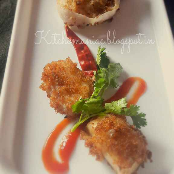 Photo of Cheesy Onion Rings by Neha Paliwal at BetterButter