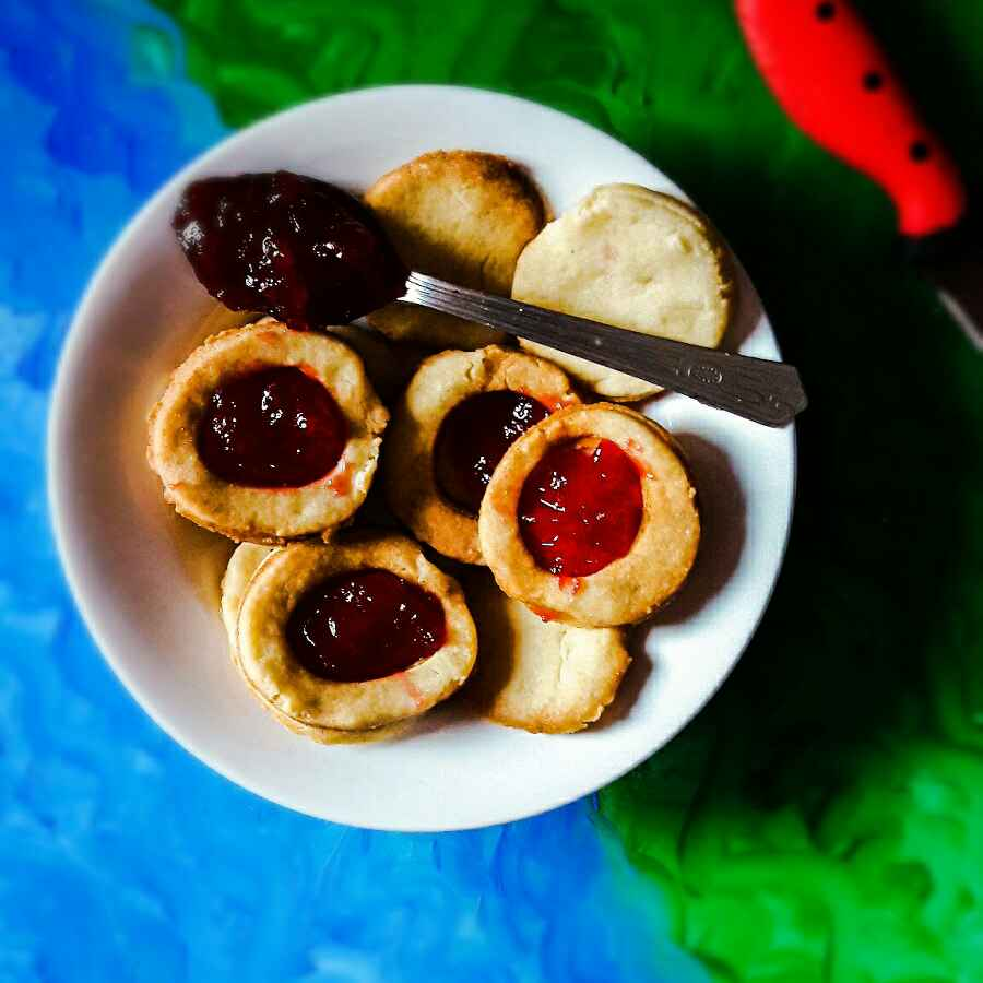 How to make Butter Jam Cookies