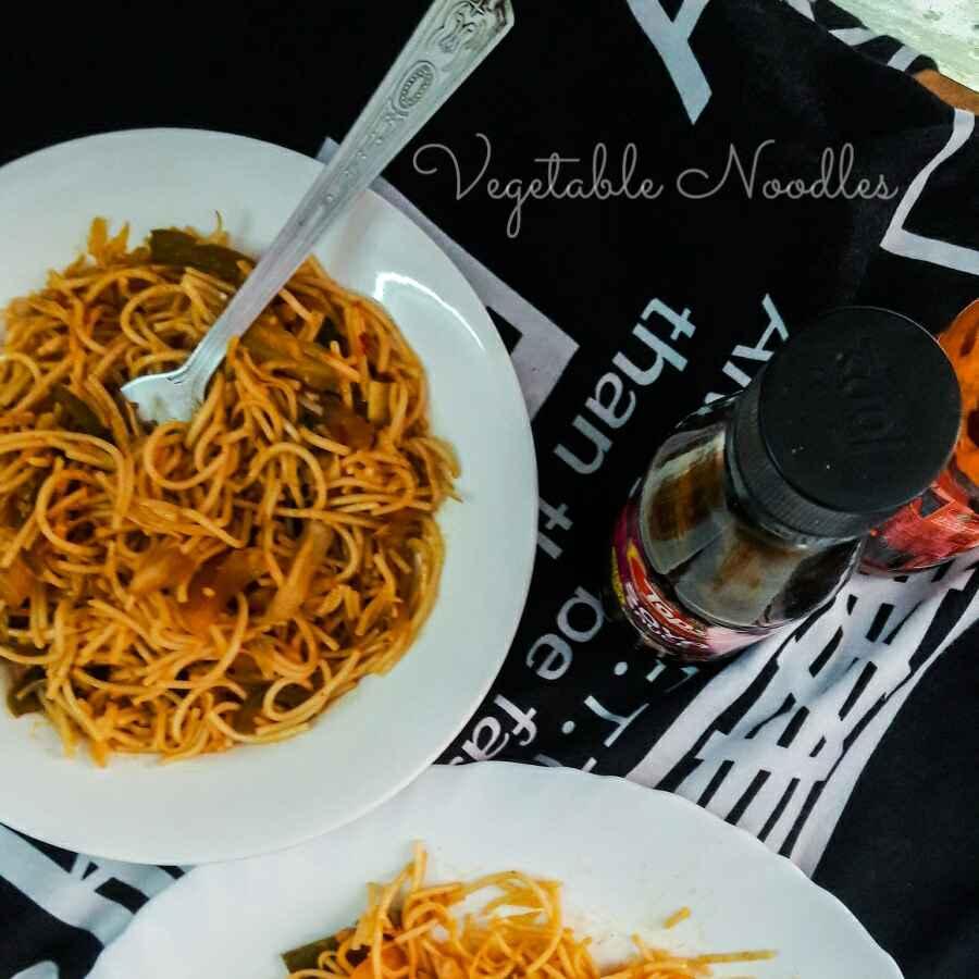 How to make Vegetable Noodles