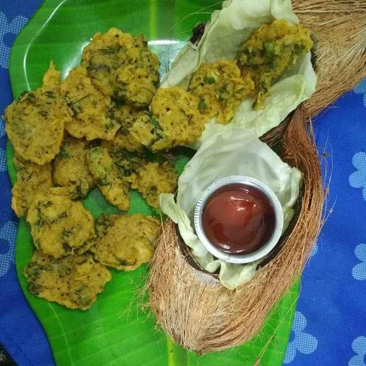 Photo of Nariyal ke kurkure pakore by Neha Santoshwar at BetterButter