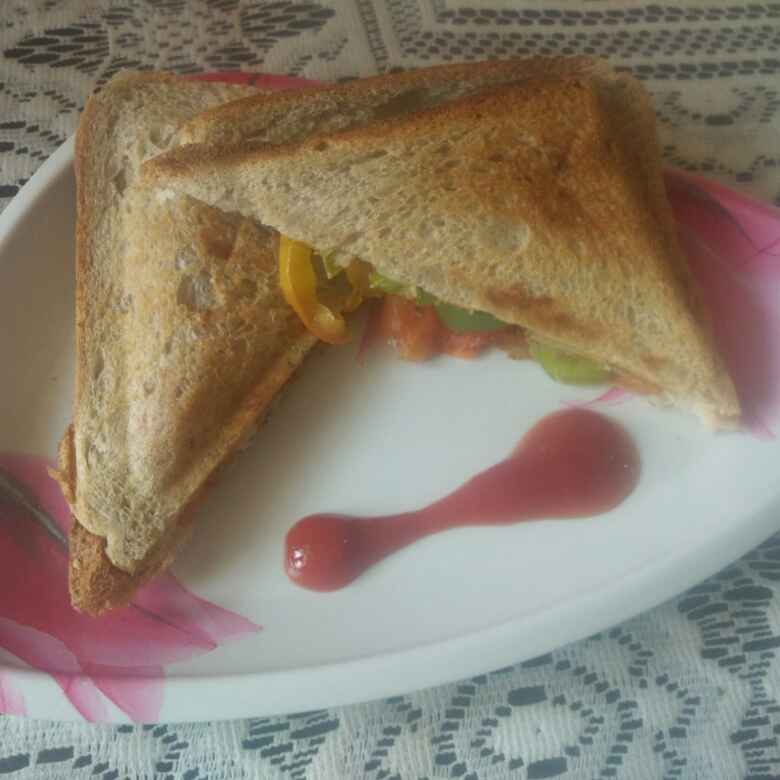 Photo of Vegetable sandwich by Neha Seth at BetterButter
