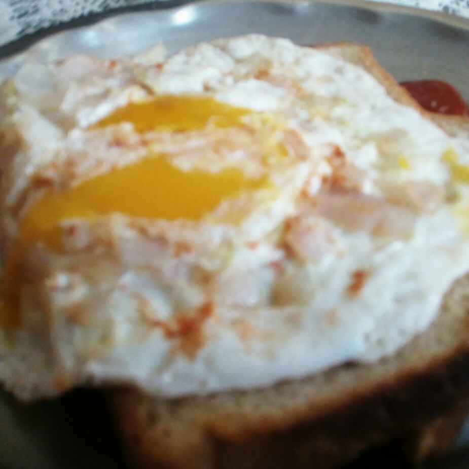 How to make Sunny Side Up Omelette