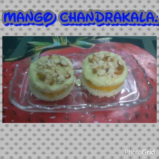 Photo of Mango chandrakala by Neha Sharma at BetterButter