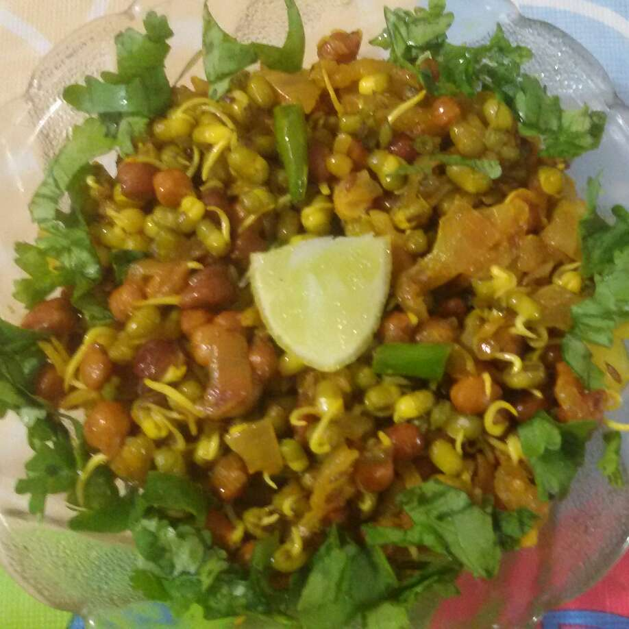 Photo of Healthy sprout chaat by Neha Sharma at BetterButter