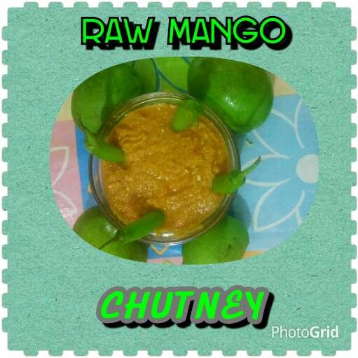 How to make Raw mango chutney.