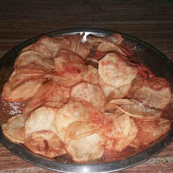Photo of Fried home made potato chips by Neha Sharma at BetterButter
