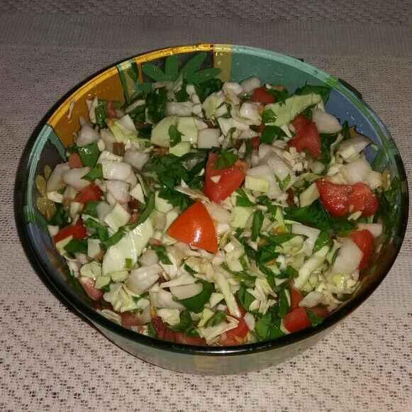How to make Salad bowl