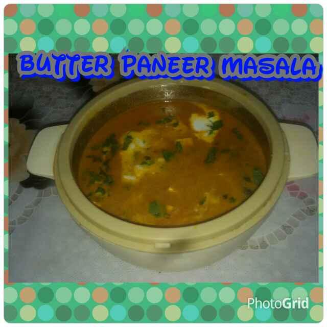 How to make बटर पनीर मसाला