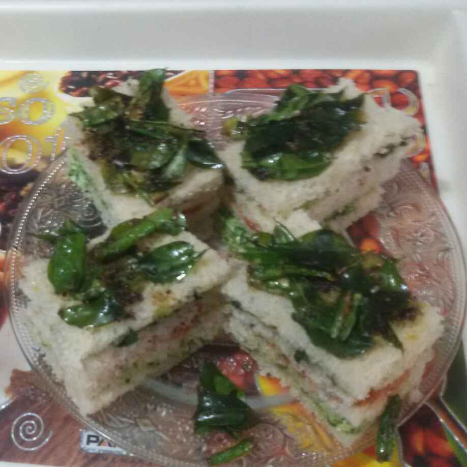 How to make Bread dhokla