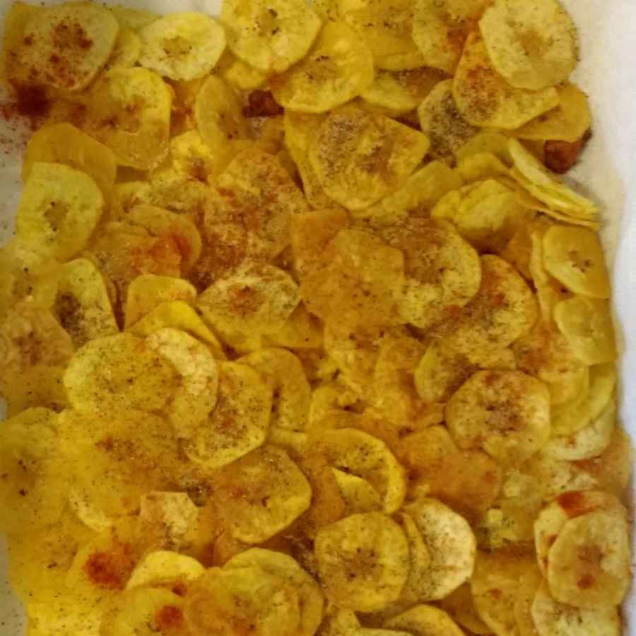 Photo of Raw Banana Chips by Neha Sharma at BetterButter