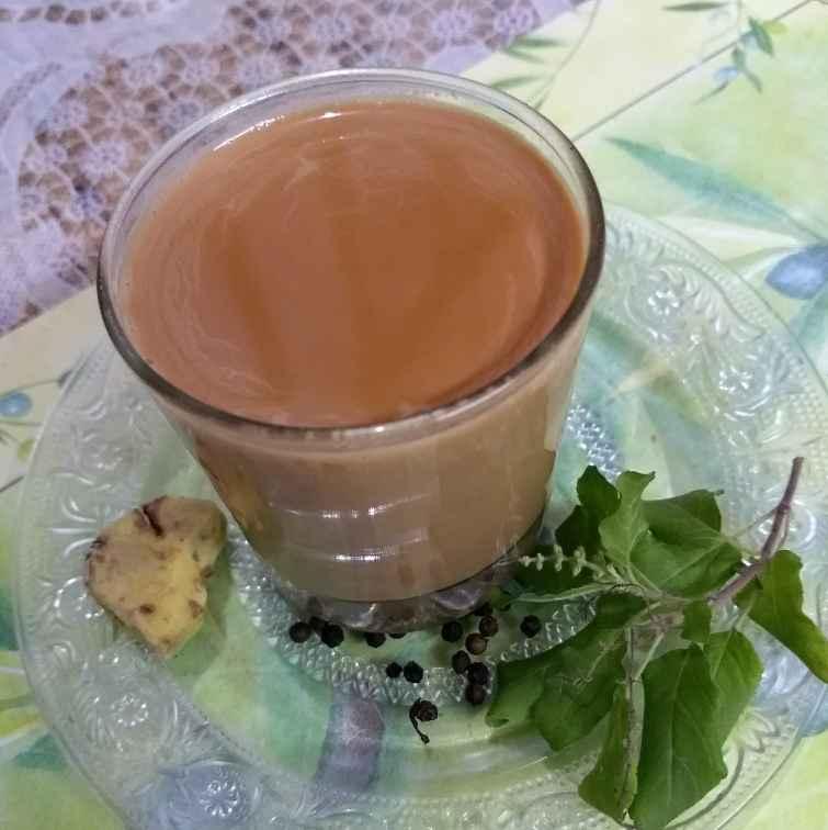 Photo of Adrak tulsi patti kali mirch ki chai by Neha Sharma at BetterButter