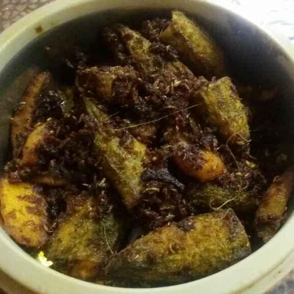 How to make Bharwan karele