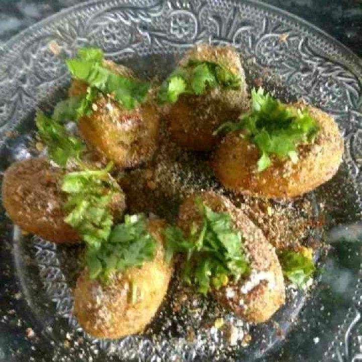 How to make Fried potato snack