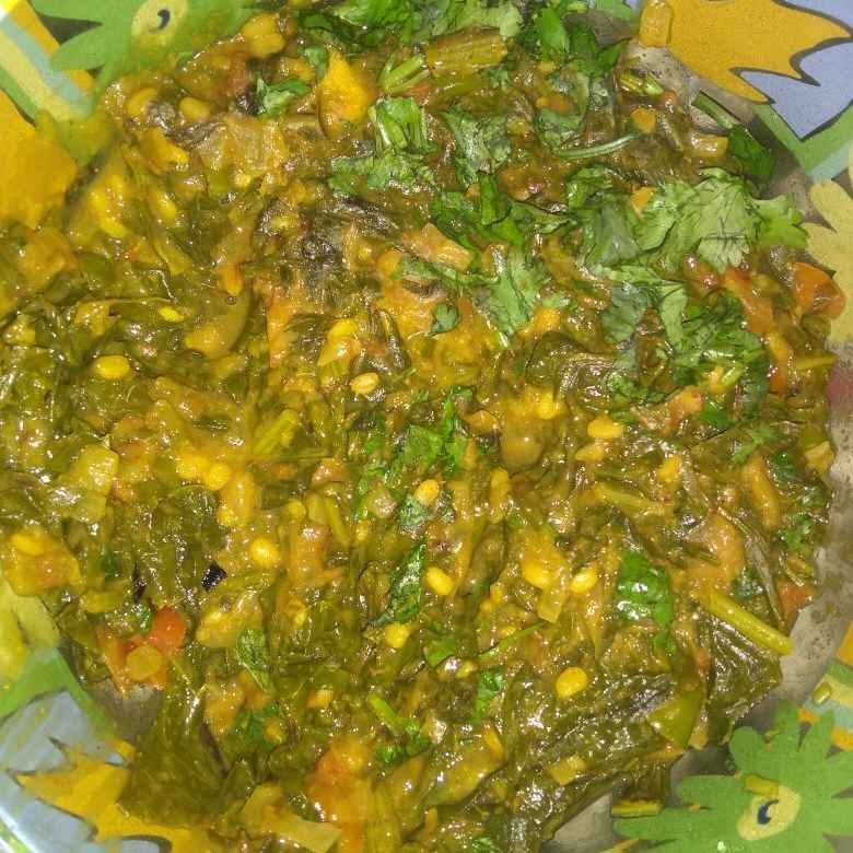 How to make Mooli Sabzi