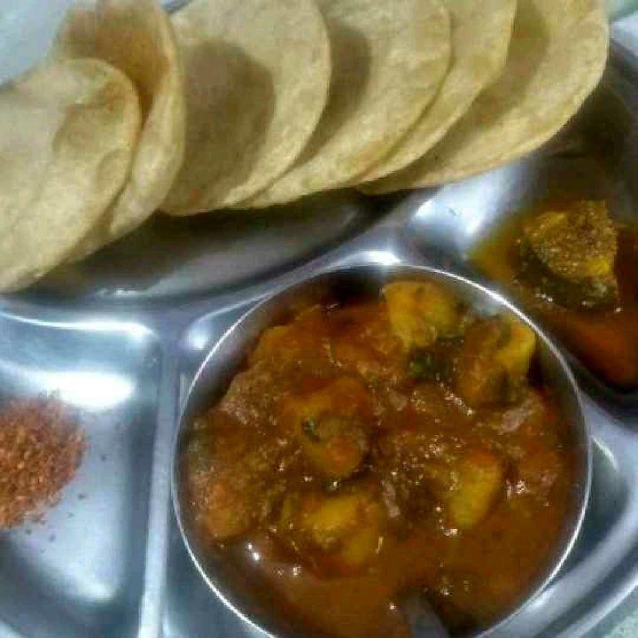 How to make Poori-bhaji