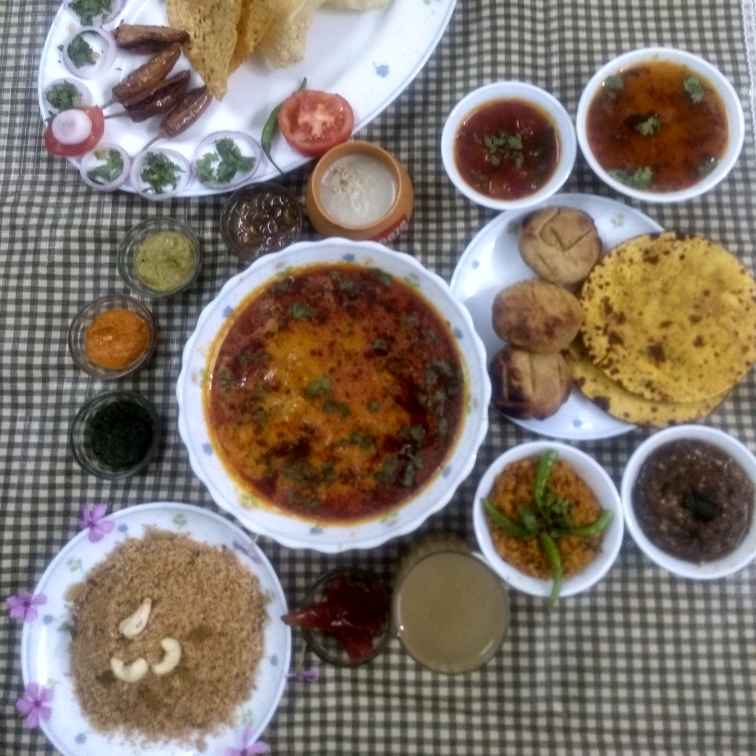 Photo of Rajasthani thali by Neha Sharma at BetterButter
