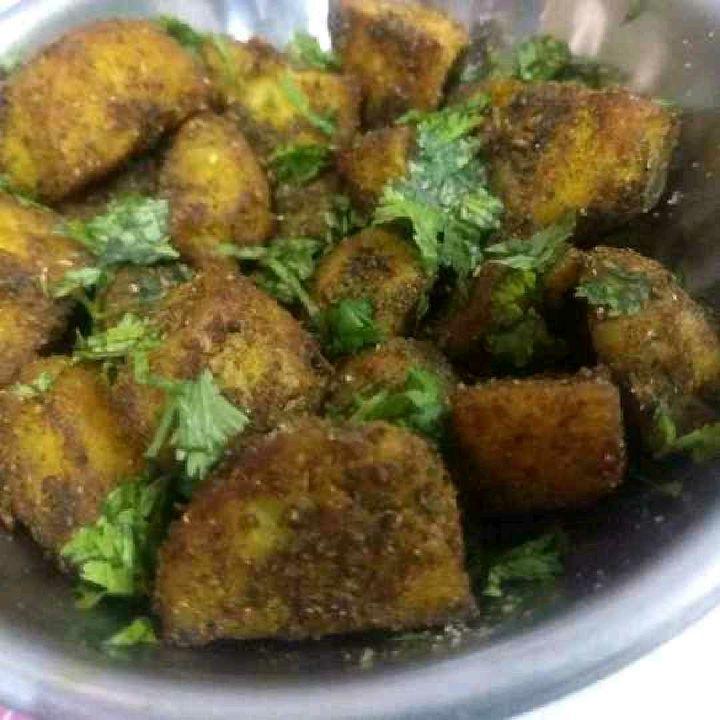 How to make Achaari aloo