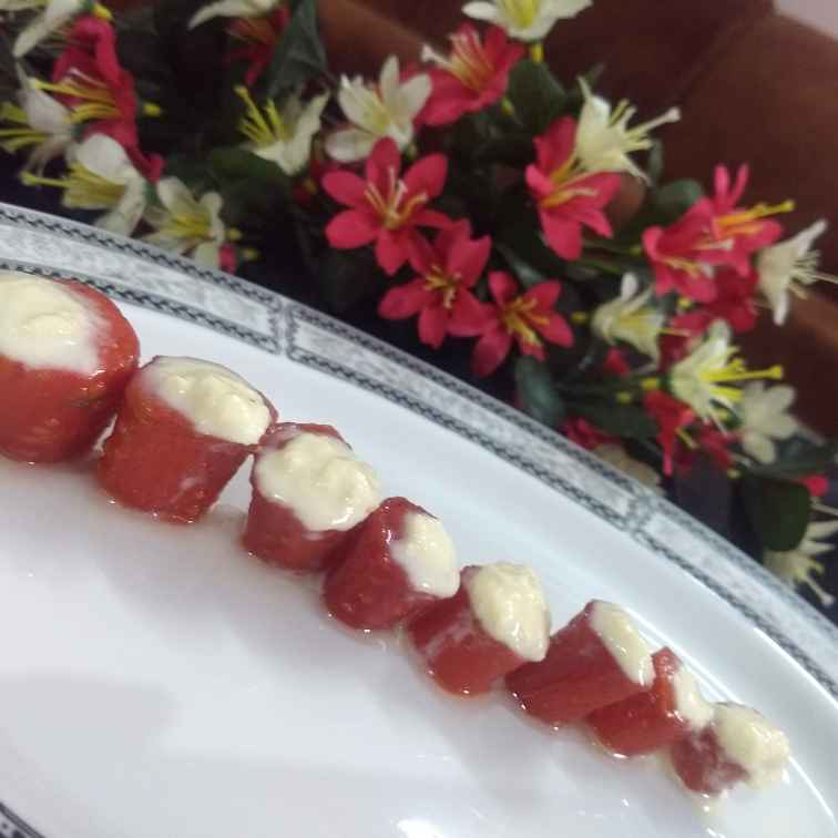 Photo of Gajar petha with stuffed cream by Neha Sharma at BetterButter