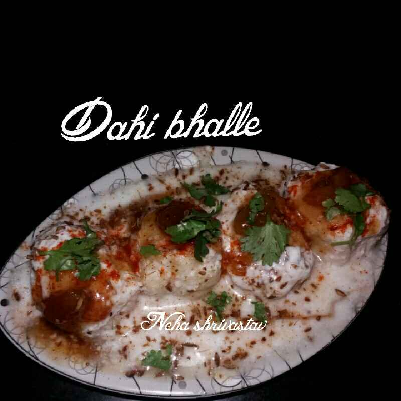 Photo of Dahi bhalle by Neha shrivasrav at BetterButter