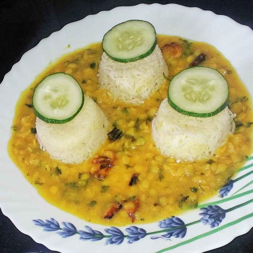 How to make दाल चावल