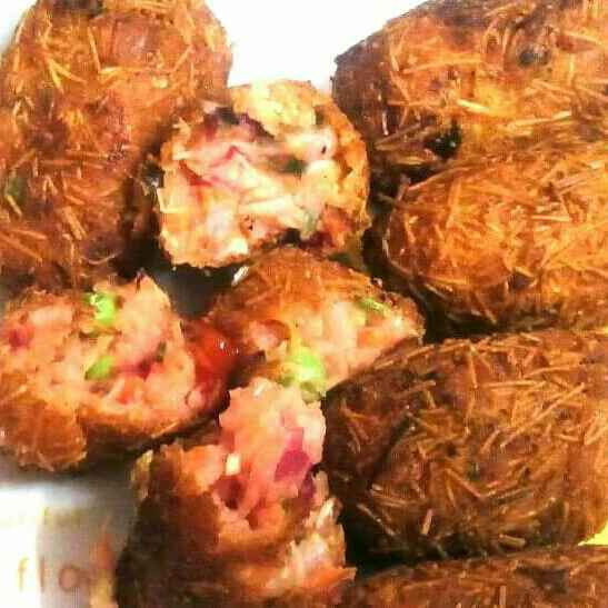 How to make Sevai beetroot cutlet