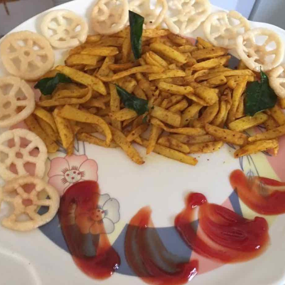 How to make Masala french fries