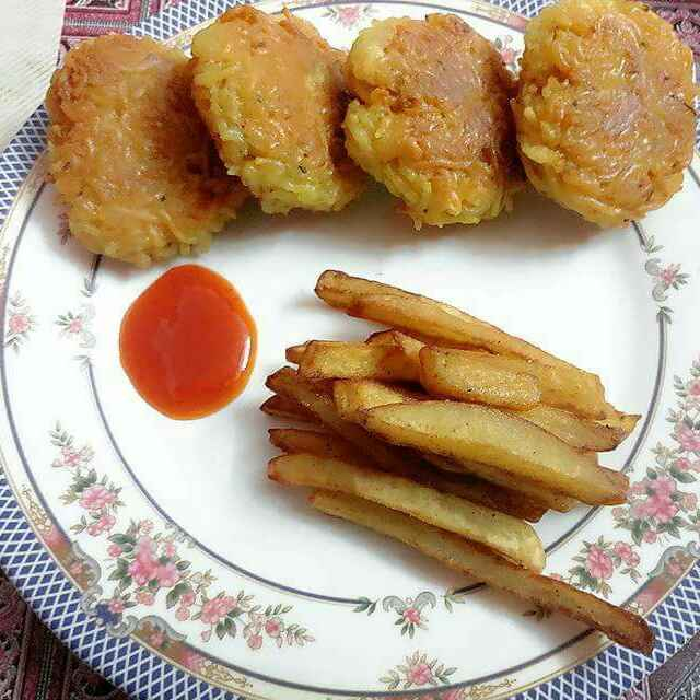 How to make Maggi Cheese Fritters