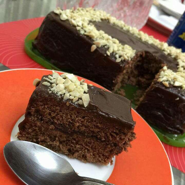 How to make Sponge cake with Chocolate ganache