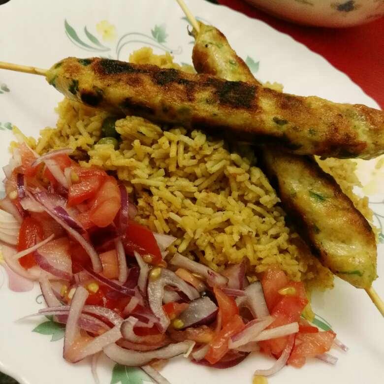Photo of Chicken seekh kabab by Nida Saleem at BetterButter