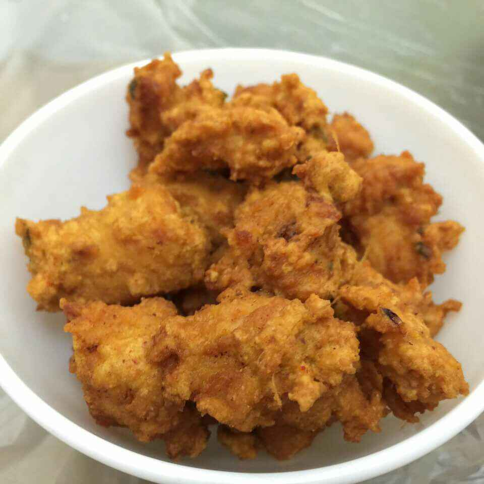 How to make Onion Chicken Pakoda